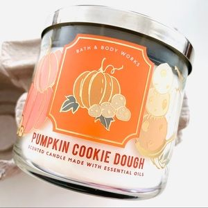 NEW Pumpkin Cookie Dough Candle